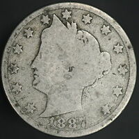 1887 LIBERTY V NICKEL  7353