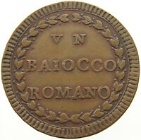 VATICAN BAIOCCO PIUS VI PAPAL STATES 1790  T5 079