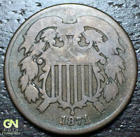 1871 2 CENT PIECE  --  MAKE US AN OFFER  Y6009