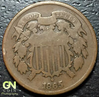 1865 2 CENT PIECE      MAKE US AN OFFER  Y3461