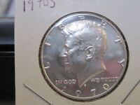 1970 50C PROOF KENNEDY HALF DOLLAR