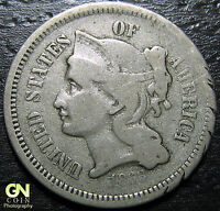 1868 3 CENT NICKEL PIECE      MAKE US AN OFFER  Y5474