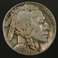 1929 S BUFFALO NICKEL NICE SHARP & ORIGINAL I LOVE COINS LIKE THIS ONE 4972