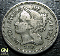 1868 3 CENT NICKEL PIECE      MAKE US AN OFFER  O1183