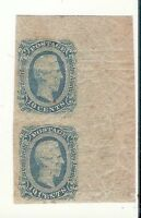 US CONFEDERATE STATES STAMPS SCOTT 11 NH WITH NATURAL GUM