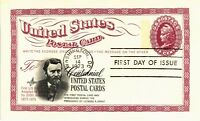 DR JIM STAMPS US POSTAL CARD CENTENNIAL FIRST DAY OF ISSUE 1973