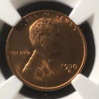1930-S 1C RD LINCOLN WHEAT ONE CENT NGC MINT STATE 67RD                      4322323-011C