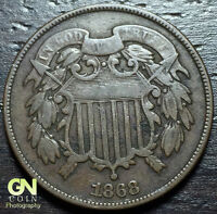 1868 2 CENT PIECE  --  MAKE US AN OFFER  Y6901