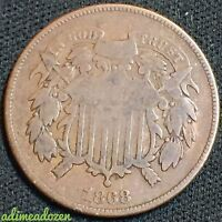 1868 2C TWO CENT PIECE GM1983