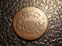 1864 LARGE MOTTO TWO CENT PIECE LOWER GRADE WE COMBINE ON SHIPPING