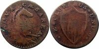 1787 NEW JERSEY COLONIAL COPPER CENT COIN