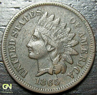 1865 INDIAN HEAD CENT  --  MAKE US AN OFFER  Y7063