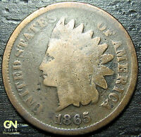 1865 INDIAN HEAD CENT  --  MAKE US AN OFFER  Y7066