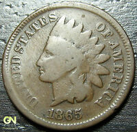 1865 INDIAN HEAD CENT  --  MAKE US AN OFFER  Y6498