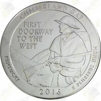 2016 CUMBERLAND GAP 5 OZ SILVER AMERICA THE BEAUTIFUL  SKU 20263