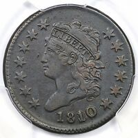 1810/09 S 281 PCGS XF DETAILS CLASSIC HEAD LARGE CENT COIN 1C