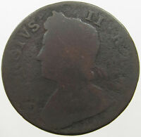 GREAT BRITAIN  HALF PENNY 1730 LP 141