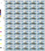 2805 - 29 COLUMBUS' LANDING ISSUE -  MNH SHEET OF 50 - FACE VALUE $14.50