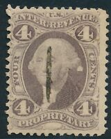 DR JIM STAMPS OLD US REVENUE SCOTT R22 4C PROPRIETARY USED NO RESERVE