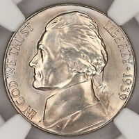 1939 S JEFFERSON NICKEL REVERSE OF 38 NGC MS66 FRESH SLAB SUPERB GEM PQ C4