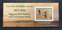 WTDSTAMPS   RW84A 2017   2018   US FEDERAL DUCK STAMP   POST OFFICE FRESH
