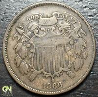 1866 2 CENT PIECE  --  MAKE US AN OFFER  Y8161