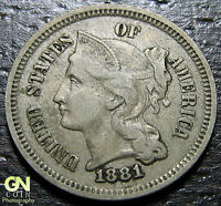 1881 3 CENT NICKEL PIECE      MAKE US AN OFFER  O1224