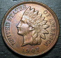 1907 INDIAN HEAD CENT      MAKE US AN OFFER O3698