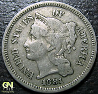1881 3 CENT NICKEL PIECE      MAKE US AN OFFER  Y5134