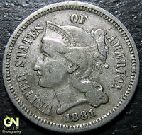 1881 3 CENT NICKEL PIECE      MAKE US AN OFFER  Y5141