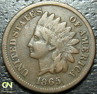1865 INDIAN HEAD CENT  --  MAKE US AN OFFER  Y2971