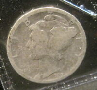 1927 MERCURY SILVER DIME   YOU GRADE   B205