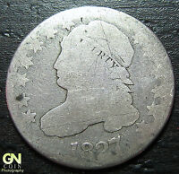 1827 CAPPED BUST DIME  --  MAKE US AN OFFER  W3671 ZXCV