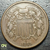 1868 2 CENT PIECE  --  MAKE US AN OFFER  Y8166