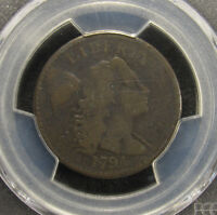 1794 LARGE CENT S-43 HEAD OF 1794 PCGS G4 419 TI