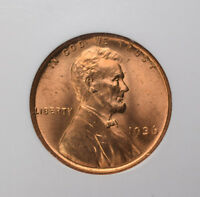 1936 1C LINCOLN WHEAT CENT NGC MINT STATE 66RD RED LUSTER