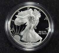 1994 PROOF AMERICAN SILVER EAGLE BOX/COA