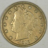 1912-D LIBERTY NICKEL - FULL BOLD LIBERTY VF - PRICED RIGHT