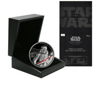 NIUE DISNEY STAR WARS $5 DOLLARS 2 OZ. SILVER PROOF COIN 2017 MINT DARTH VADER