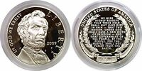 2009 P $1 ABRAHAM LINCOLN COMMEMORATIVE SILVER DOLLAR PROOF MINT CAPSULE ONLY