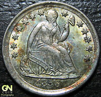 1856 P SEATED HALF DIME  BREEN 3076  --  MAKE US AN OFFER  G4371
