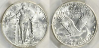1928-S STANDING LIBERTY QUARTER PCGS MINT STATE 64 -- SHIPS FREE