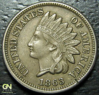 1863 INDIAN HEAD CENT  --  MAKE US AN OFFER  Y7499
