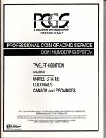 PCGS--COIN NUMBERING SYSTEM--TWELFTH EDITION--2001--SHIPS FREE