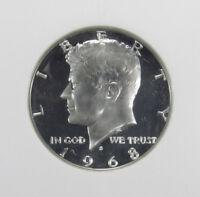1968-S PROOF KENNEDY HALF DOLLAR NGC PF68 ULTRA CAMEO 006