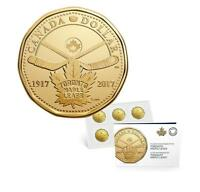 2017 CANADA $1 TORONTO MAPLE LEAFS 100TH ANNIVERSARY 5 PACK COIN LOONIE