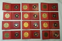 BRITISH ROYAL MINT 1983   1989 STATES OF JERSEY 12   COIN GO
