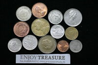 WORLD COINS USEFULL LOT LACQUERED FOR PRESERVATION A72 ZA31