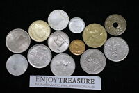 WORLD COINS USEFULL LOT LACQUERED FOR PRESERVATION A72 ZA38