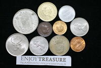 WORLD COINS USEFULL LOT LACQUERED FOR PRESERVATION A72 ZM2